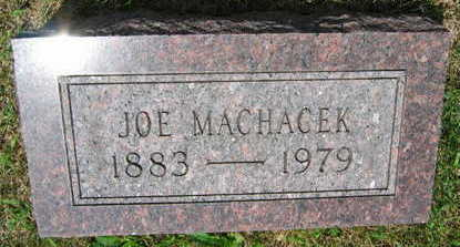 MACHACEK, JOE - Linn County, Iowa | JOE MACHACEK