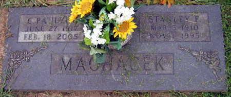 MACHACEK, STANLEY F. - Linn County, Iowa | STANLEY F. MACHACEK