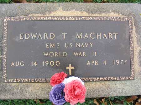 MACHART, EDWARD T. - Linn County, Iowa | EDWARD T. MACHART