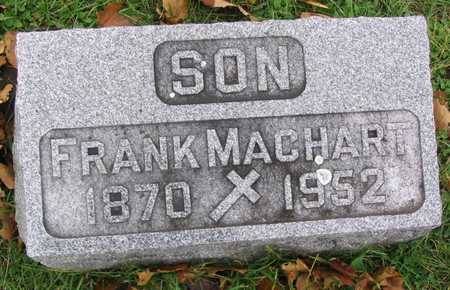 MACHART, FRANK - Linn County, Iowa | FRANK MACHART