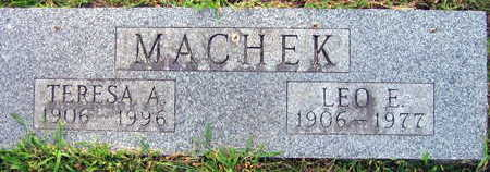 MACHEK, TERESA A. - Linn County, Iowa | TERESA A. MACHEK