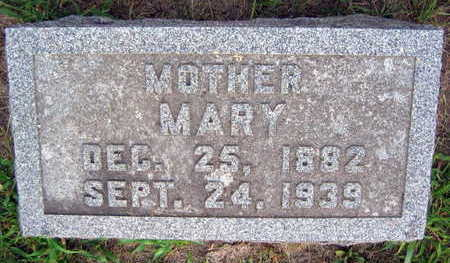 MACHEK, MARY - Linn County, Iowa | MARY MACHEK