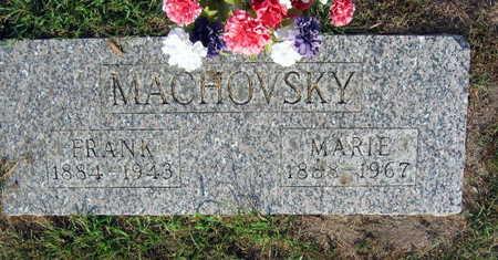 MACHOVSKY, MARIE - Linn County, Iowa | MARIE MACHOVSKY