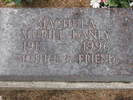 DANLY MACHULA, MURIEL - Linn County, Iowa | MURIEL DANLY MACHULA