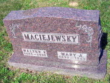 MACIEJEWSKY, MARY A. - Linn County, Iowa | MARY A. MACIEJEWSKY