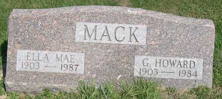 MACK, G. HOWARD - Linn County, Iowa | G. HOWARD MACK