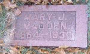 MADDEN, MARY J. - Linn County, Iowa | MARY J. MADDEN