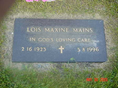 MAINS, LOIS - Linn County, Iowa | LOIS MAINS