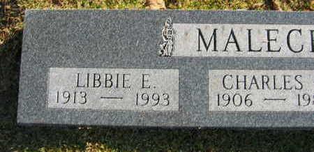 MALECEK, LIBBIE E. - Linn County, Iowa | LIBBIE E. MALECEK