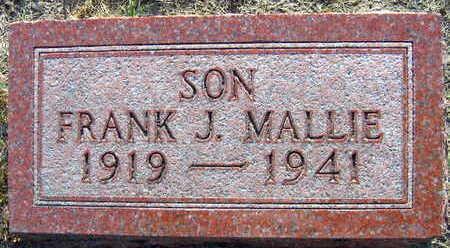 MALLIE, FRANK J. - Linn County, Iowa | FRANK J. MALLIE