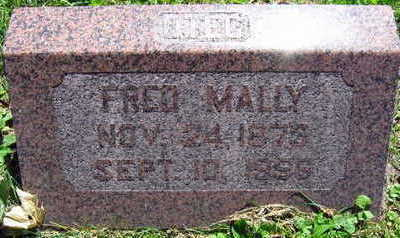 MALLY, FRED - Linn County, Iowa | FRED MALLY