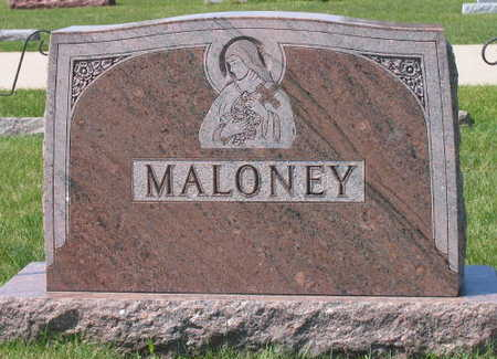 MALONEY, FAMILY STONE - Linn County, Iowa | FAMILY STONE MALONEY