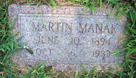 MANAK, MARTIN - Linn County, Iowa | MARTIN MANAK