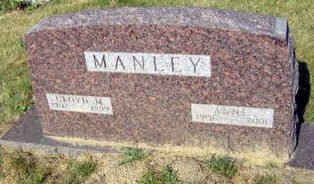 MANLEY, ANNE - Linn County, Iowa | ANNE MANLEY
