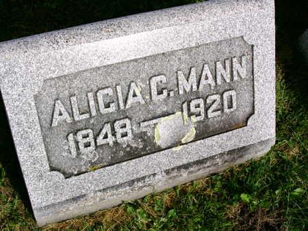MANN, ALICIA C. - Linn County, Iowa | ALICIA C. MANN