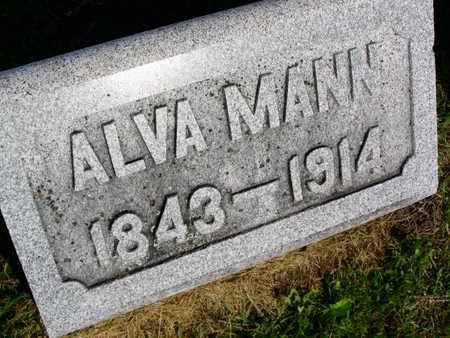 MANN, ALVA - Linn County, Iowa | ALVA MANN