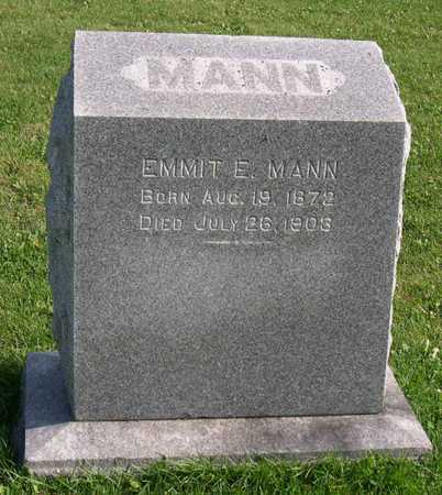 MANN, EMMIT E. - Linn County, Iowa | EMMIT E. MANN