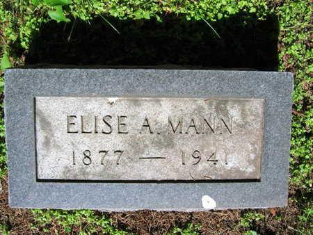 MANN, ELSIE A. - Linn County, Iowa | ELSIE A. MANN