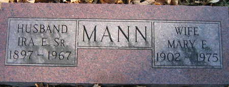 MANN, MARY E. - Linn County, Iowa | MARY E. MANN