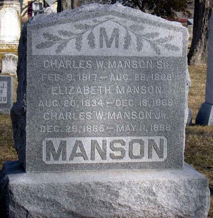 MANSON, ELIZABETH - Linn County, Iowa | ELIZABETH MANSON