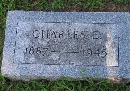 MANVILLE, CHARLES E. - Linn County, Iowa | CHARLES E. MANVILLE