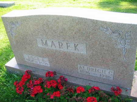 MAREK, ALDRICH C. - Linn County, Iowa | ALDRICH C. MAREK