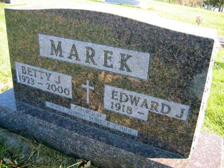 MAREK, BETTY J. - Linn County, Iowa   BETTY J. MAREK