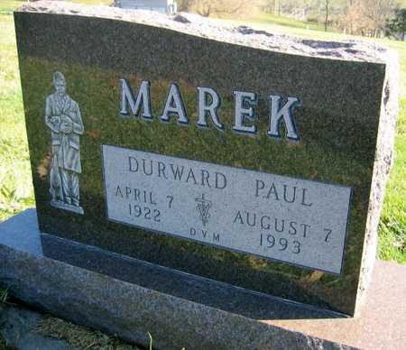 MAREK, DURWARD PAUL - Linn County, Iowa | DURWARD PAUL MAREK