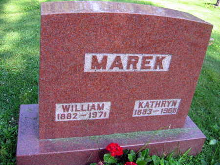 MAREK, WILLIAM - Linn County, Iowa | WILLIAM MAREK