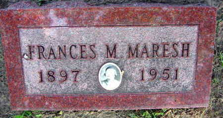 MARESH, FRANCES M. - Linn County, Iowa | FRANCES M. MARESH
