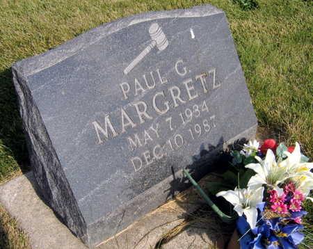 MARGRETZ, PAUL G. - Linn County, Iowa | PAUL G. MARGRETZ
