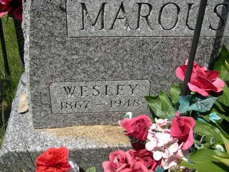 MAROUSEK, WESLEY - Linn County, Iowa | WESLEY MAROUSEK