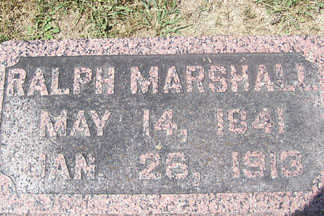 MARSHALL, RALPH - Linn County, Iowa | RALPH MARSHALL