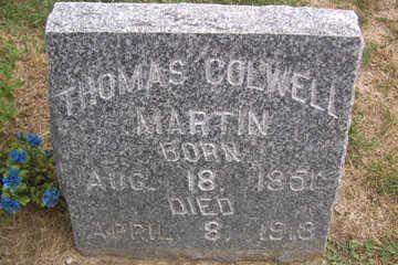 MARTIN, THOMAS COLWELL - Linn County, Iowa | THOMAS COLWELL MARTIN