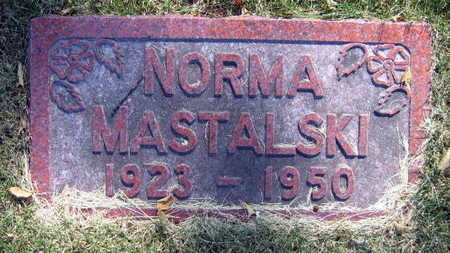 MASTALSKI, NORMA - Linn County, Iowa | NORMA MASTALSKI