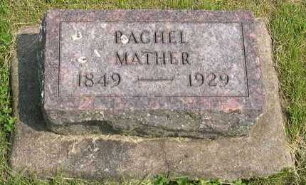 MATHER, RACHEL - Linn County, Iowa | RACHEL MATHER