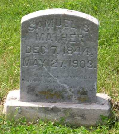 MATHER, SAMUEL B. - Linn County, Iowa | SAMUEL B. MATHER