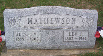 MATHEWSON, LEV JEFFERSON - Linn County, Iowa | LEV JEFFERSON MATHEWSON