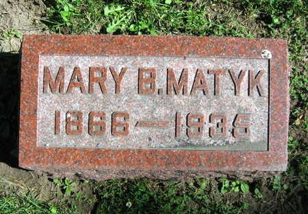 MATYK, MARY B. - Linn County, Iowa | MARY B. MATYK