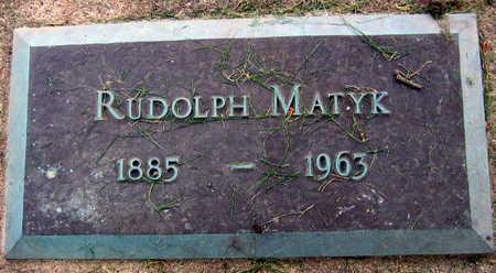 MATYK, RUDOLPH - Linn County, Iowa | RUDOLPH MATYK