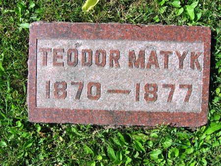 MATYK, TEODOR - Linn County, Iowa | TEODOR MATYK