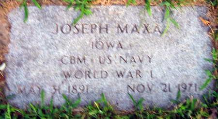 MAXA, JOSEPH - Linn County, Iowa | JOSEPH MAXA