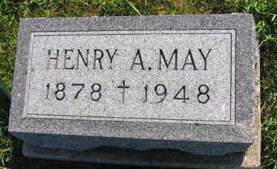 MAY, HENRY A. - Linn County, Iowa   HENRY A. MAY