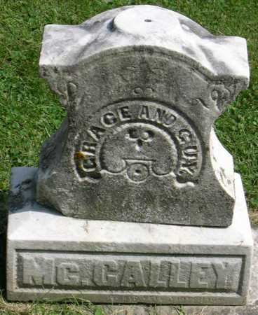 MCCALLEY, GRACE - Linn County, Iowa | GRACE MCCALLEY