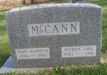 MCCANN, MARY HARRIETT - Linn County, Iowa | MARY HARRIETT MCCANN