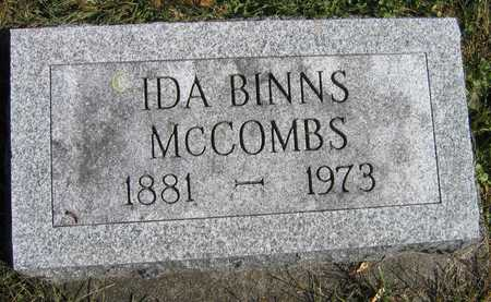 MCCOMBS, IDA - Linn County, Iowa | IDA MCCOMBS