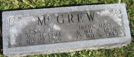 HALL MC GREW, IRENE - Linn County, Iowa | IRENE HALL MC GREW