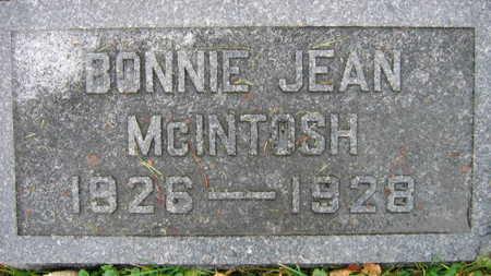 MCINTOSH, BONNIE JEAN - Linn County, Iowa | BONNIE JEAN MCINTOSH