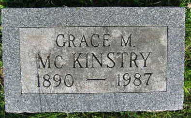 MCKINSTRY, GRACE M. - Linn County, Iowa | GRACE M. MCKINSTRY