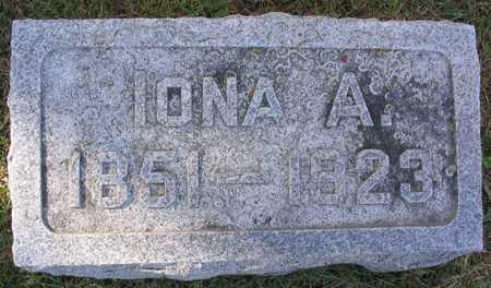 MCQUEEN, IONA - Linn County, Iowa | IONA MCQUEEN